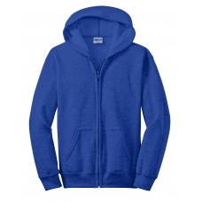 Gildan Youth Heavy Blend Full-Zip Hooded Sweatshirt