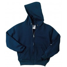 JERZEES - Youth NuBlend Full-Zip Hooded Sweatshirt
