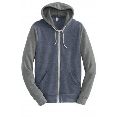 Alternative Colorblock Rocky Eco-Fleece Zip Hoodie