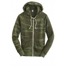 Alternative Adrian Eco -Fleece Zip Hoodie