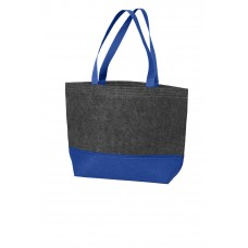 Port Authority® Medium Felt Tote