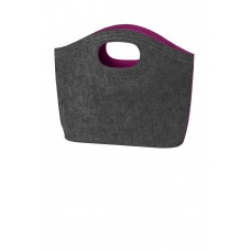 Port Authority® Felt Hobo Tote