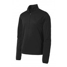 Port Authority® Active 1/2-Zip Soft Shell Jacket