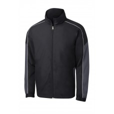 Sport-Tek® Piped Colorblock Wind Jacket