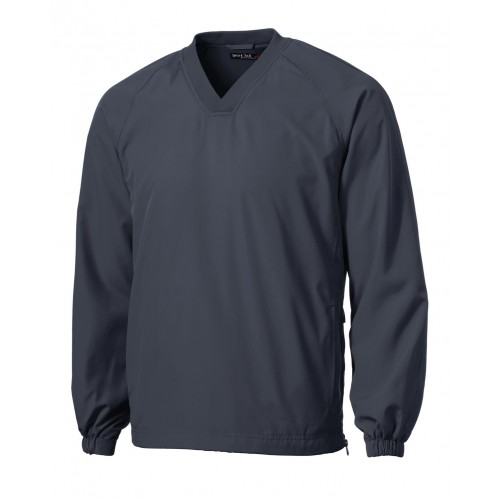 Sport-Tek® V-Neck Raglan Wind Shirt
