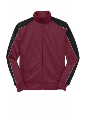 Sport-Tek® Piped Tricot Track Jacket