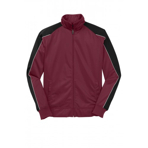 Sport-Tek® Piped Tricot Track Jacket