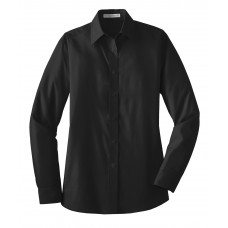 Port Authority® Ladies Long Sleeve Value Poplin Shirt