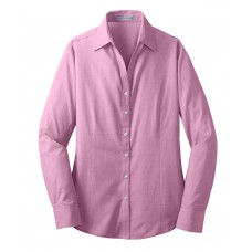 Port Authority® Ladies Crosshatch Easy Care Shirt