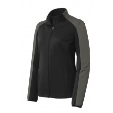 Port Authority® Ladies Active Colorblock Soft Shell Jacket