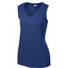 Sport-Tek Ladies Sleeveless PosiCharge Competitor V-Neck Tee