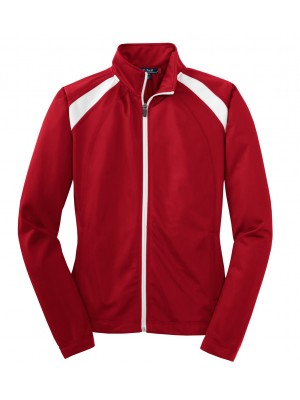 Sport-Tek® Ladies Tricot Track Jacket