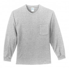 Port & Company - Long Sleeve Essential Pocket Tee