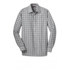 Red House® Tricolor Check Slim Fit Non-Iron Shirt