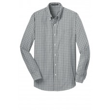 Port Authority® Long Sleeve Gingham Easy Care Shirt