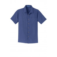 Port Authority® Textured Camp Shirt