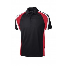 Sport-Tek Ladies Tricolor Micropique Sport-WickPolo