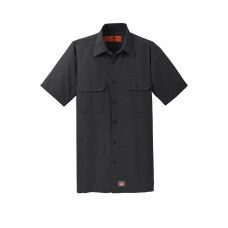 Red Kap® Short Sleeve Solid Ripstop Shirt