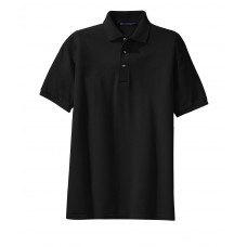 Port Authority Youth Heavyweight Cotton Pique Polo