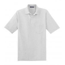 JERZEES -SpotShield 5.6-Ounce Jersey Knit Sport Shirt with Pocket