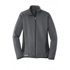 Eddie Bauer® Ladies Full-Zip Heather Stretch Fleece Jacket