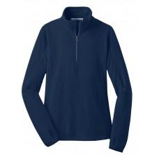 Port Authority® Ladies Microfleece 1/2-Zip Pullover