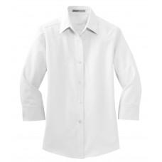 Port Authority® Ladies 3/4-Sleeve Easy Care Shirt