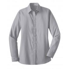 Port Authority® Ladies Long Sleeve Value Poplin Shirt