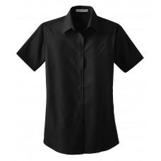 Port Authority® Ladies Short Sleeve Value Poplin Shirt