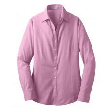 Port Authority® Ladies Crosshatch Easy Care Shirt