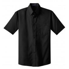 Port Authority® Short Sleeve Value Poplin Shirt