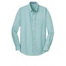 Port Authority® Long Sleeve Gingham Easy Care Shirt