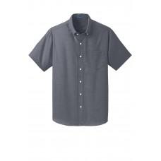 Port Authority® Short Sleeve SuperPro™ Oxford Shirt