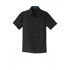 Port Authority® Textured Camp Shirt
