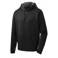 Sport-Tek Sport-Wick Fleece Colorblock Hooded Pullover